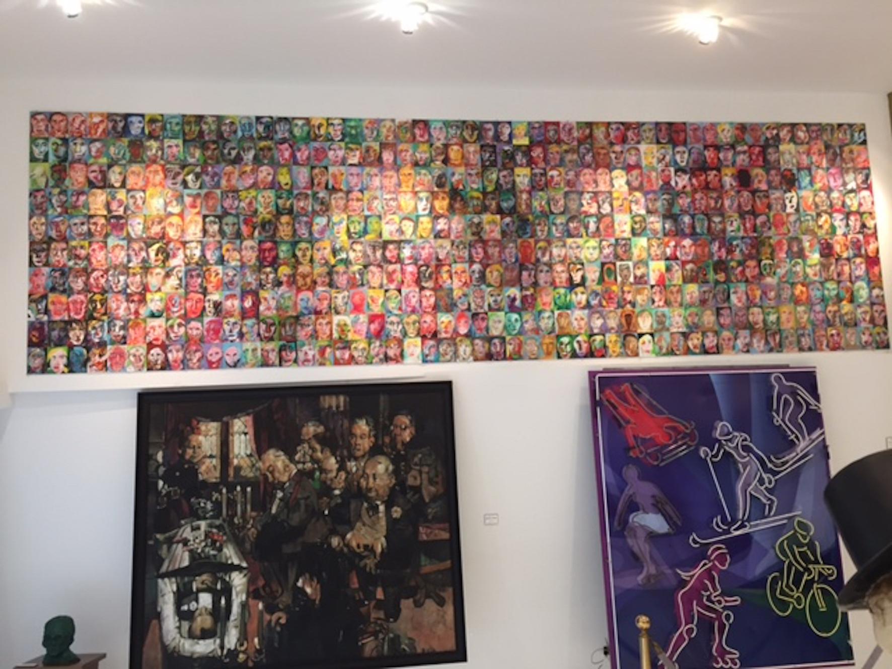 500 in a private museum in Santa Barbara