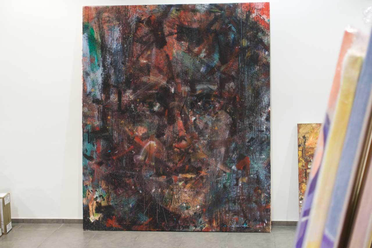 2014 Acrylic on canvas 195/162 cm. (sold)