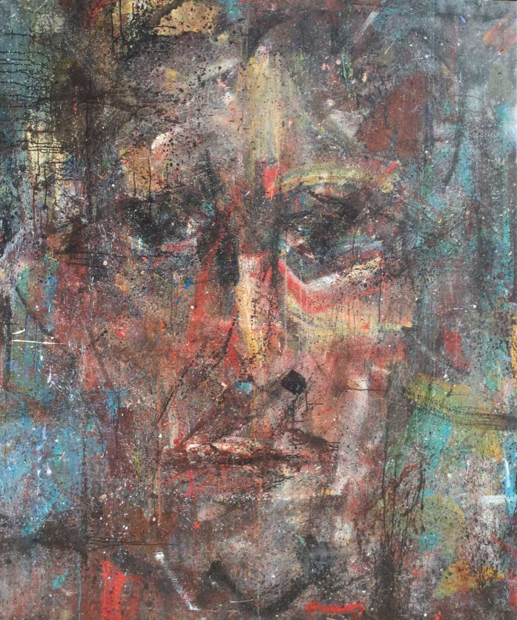 2014 Acrylic on canvas 195/162 cm.