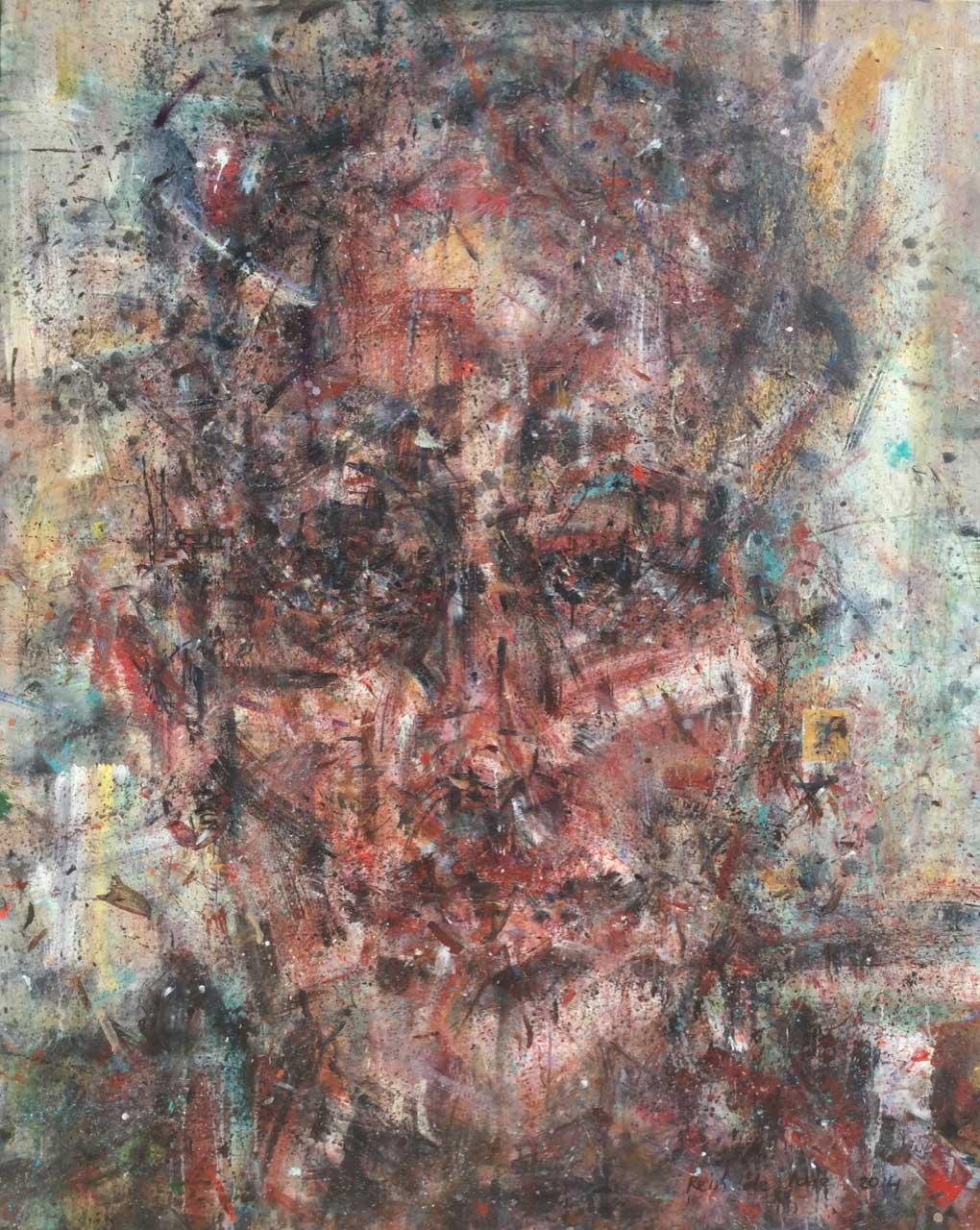 2014 Acrylic on canvas 162/130 cm.