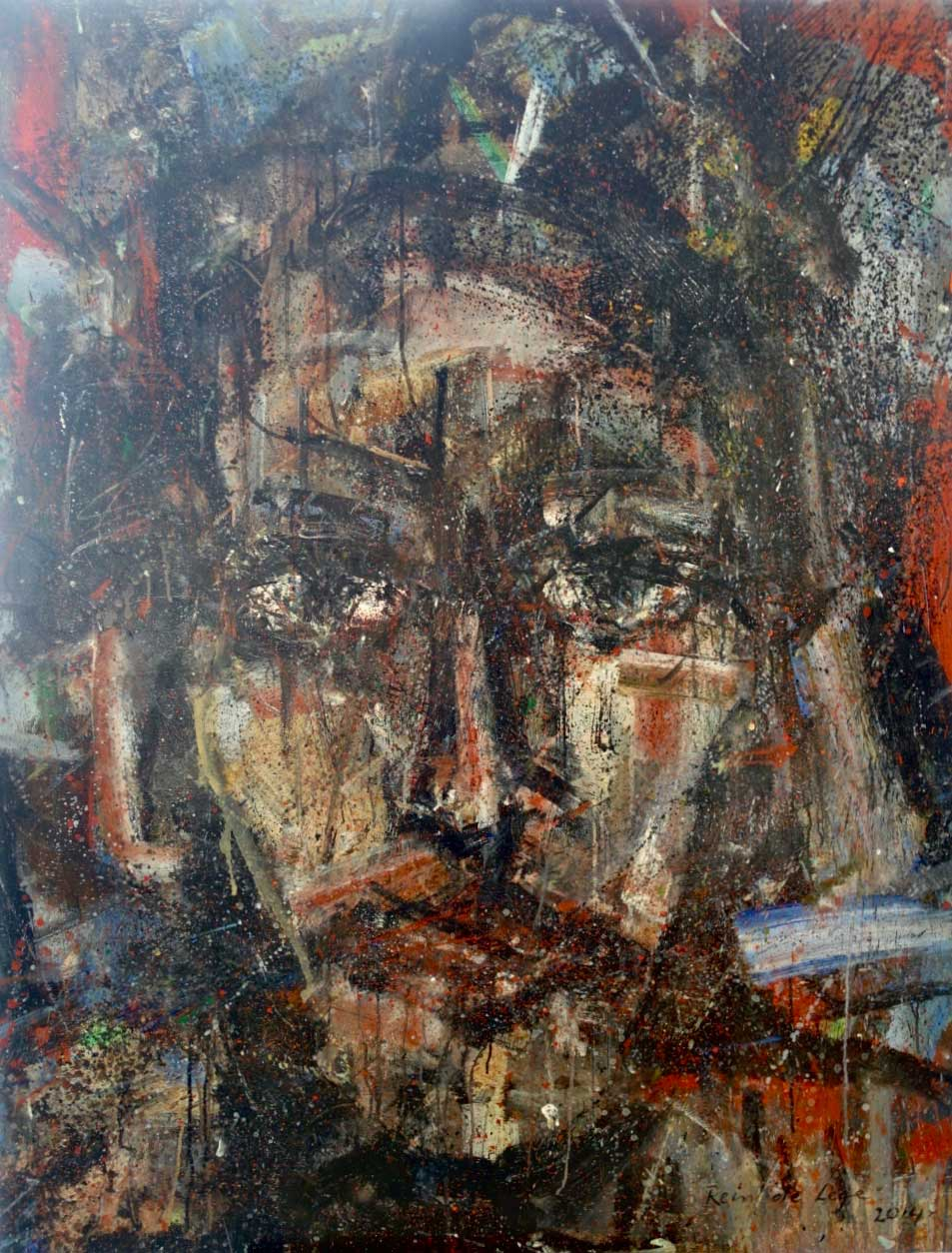 2014 Acrylic on canvas 162/130 cm