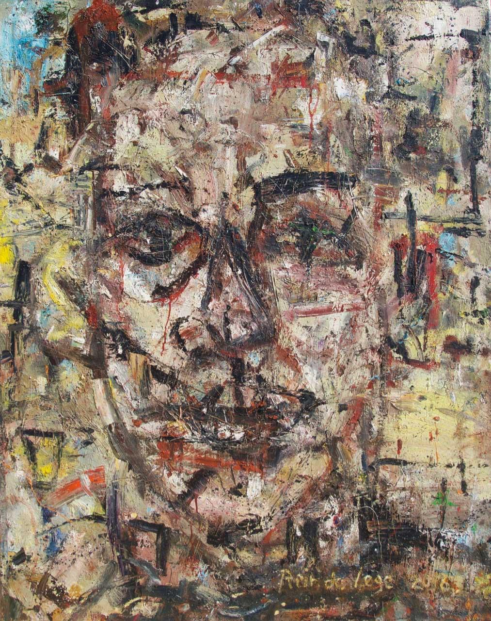2016 Oil on canvas 130/97 cm.