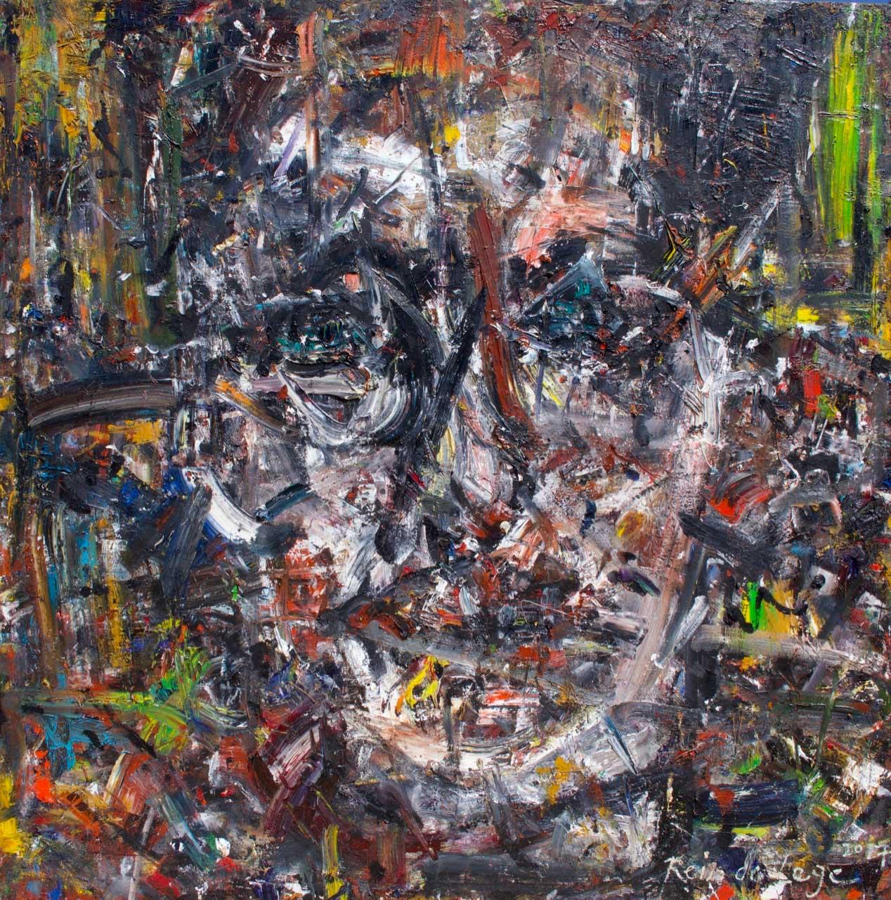 2017 Oil on canvas 150/150 cm.
