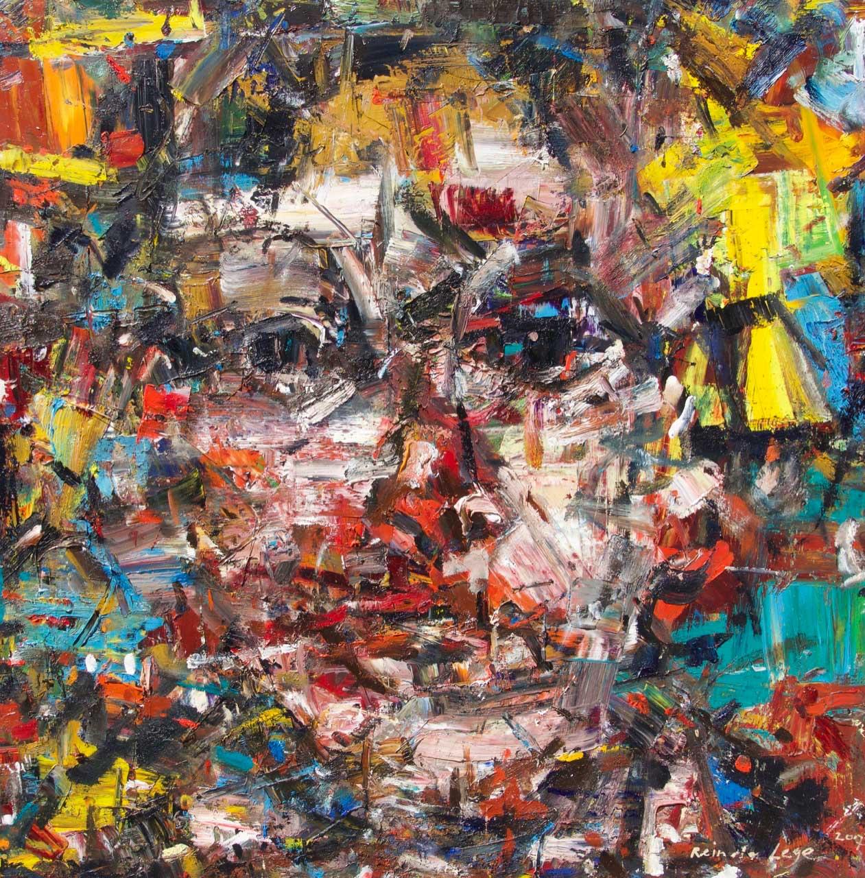 2017 Oil on canvas 100/100 cm.