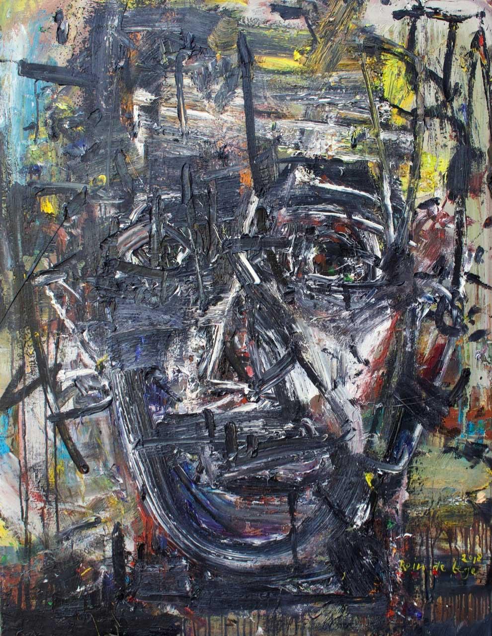 2018 Oil on canvas 116/89 cm.