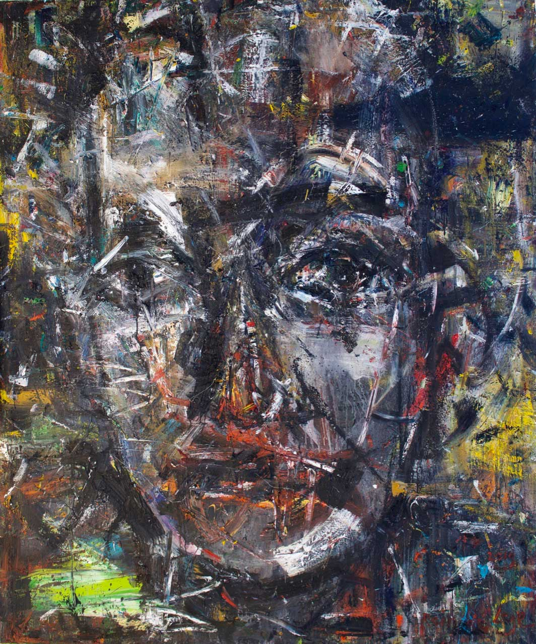 2019 Oil on canvas 195/162 cm.