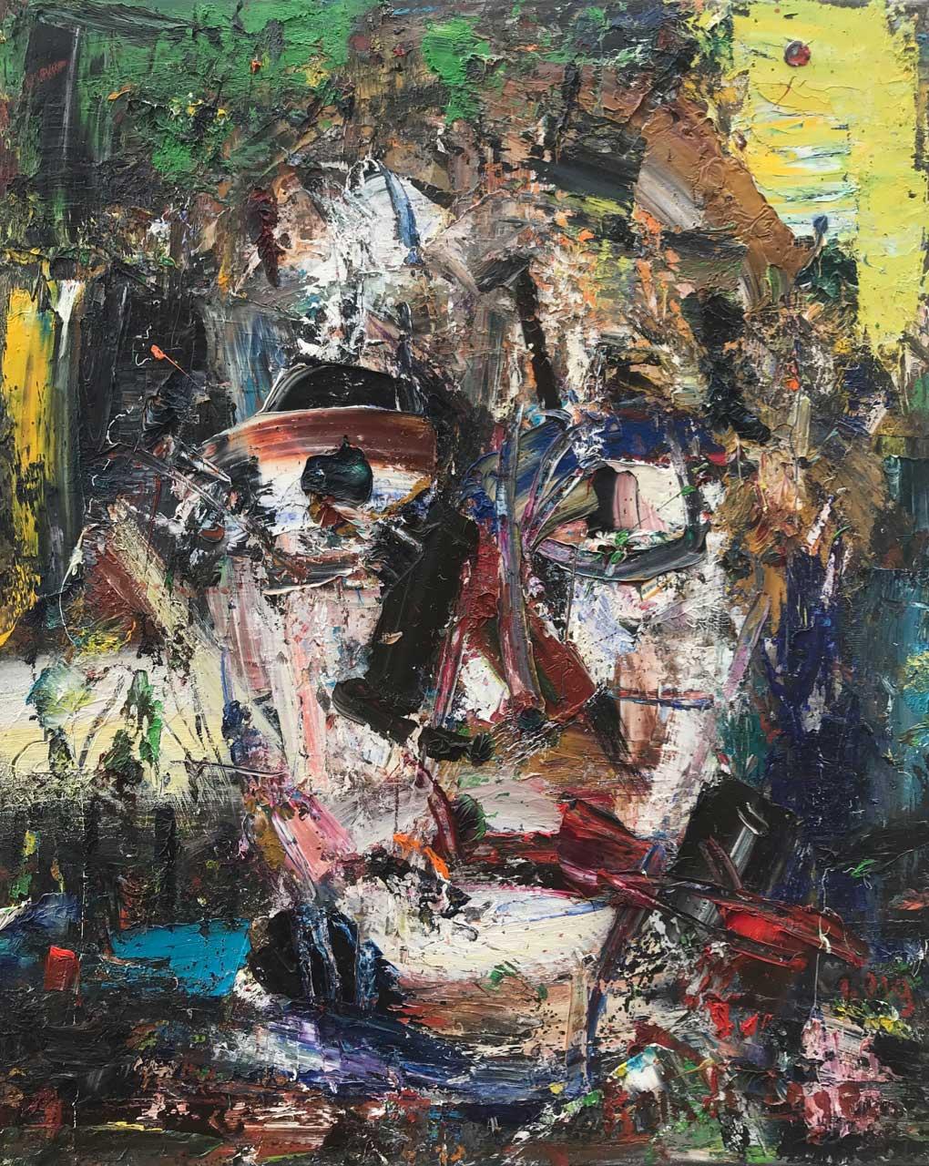 2019 Oil on canvas 81/65 cm