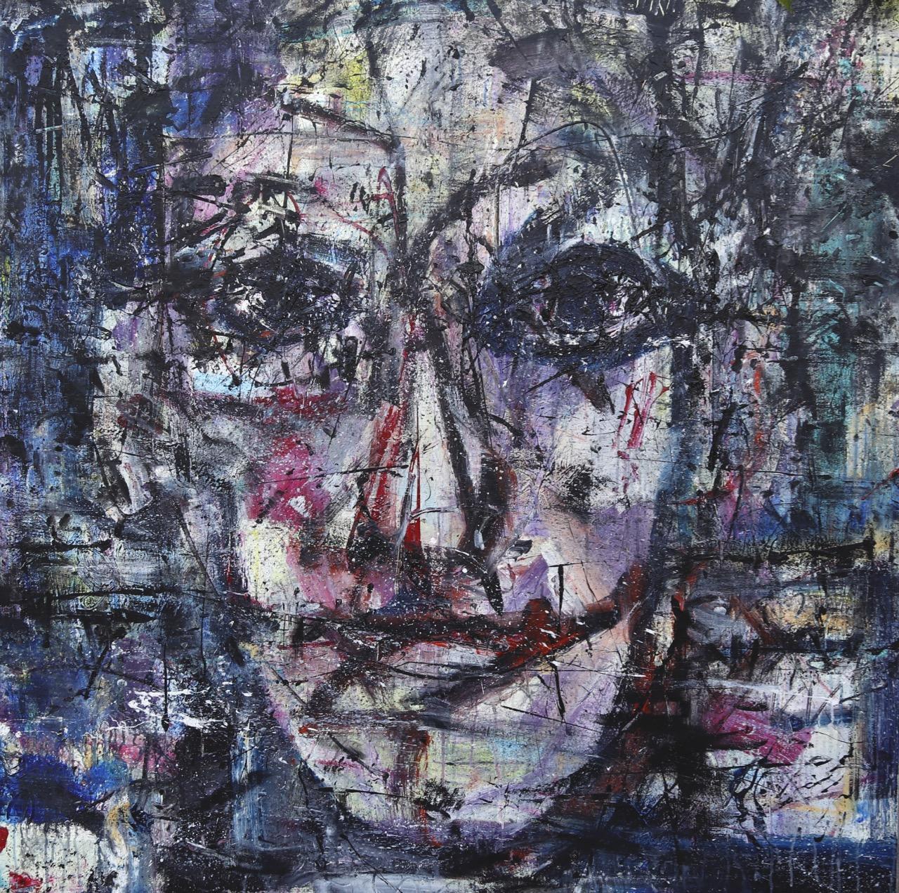 2020 Acrylic on canvas 150/150 cm.