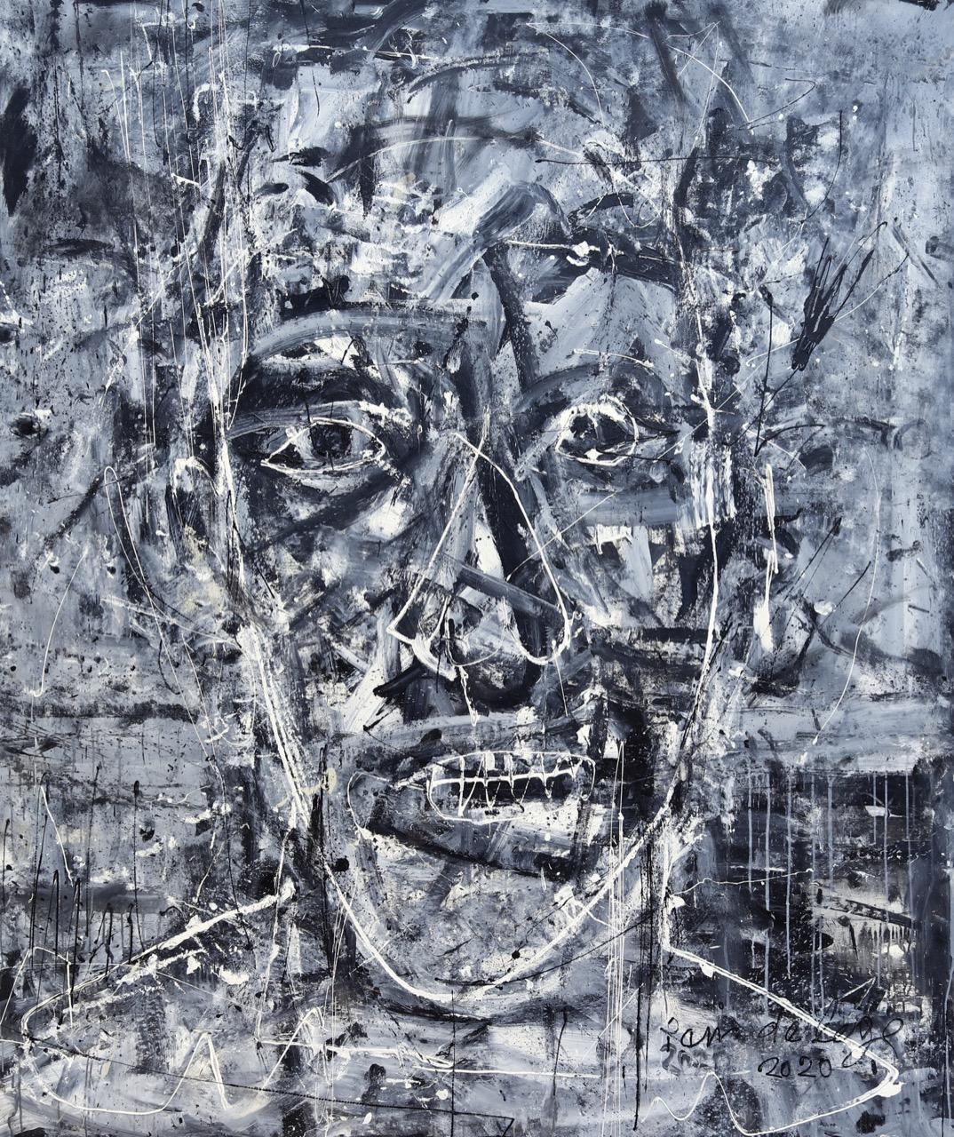 2020. Acrylic on canvas 200/165 cm.