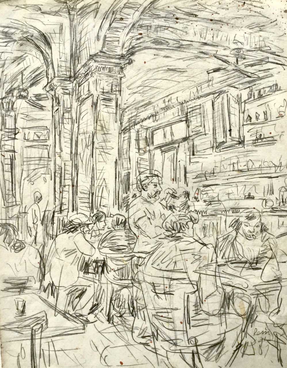 Sketchbook-1991-Barcelona