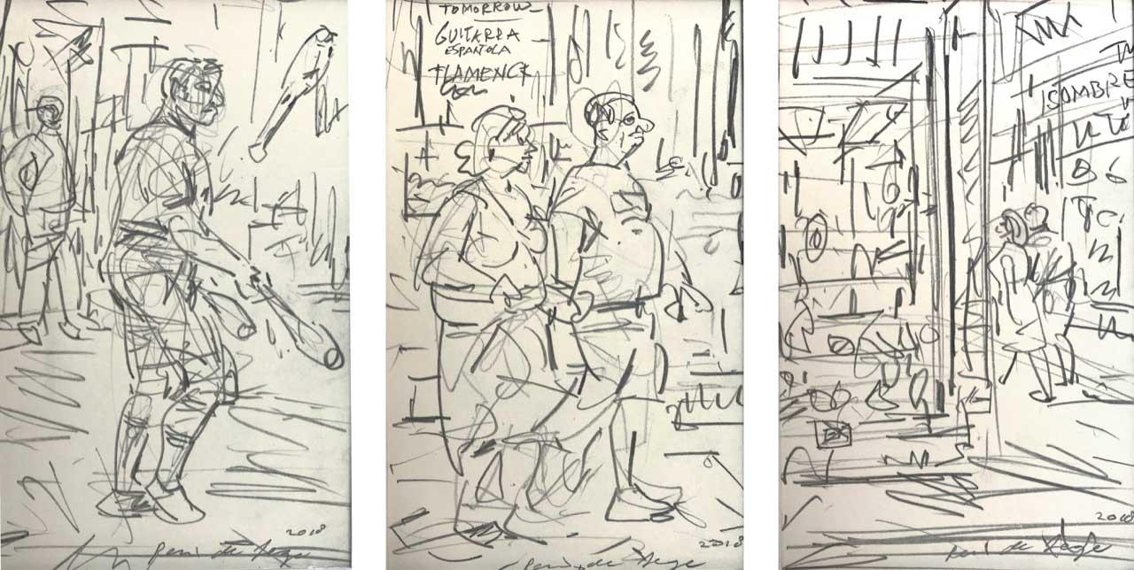 Sketchbook-2018 Barcelona 3