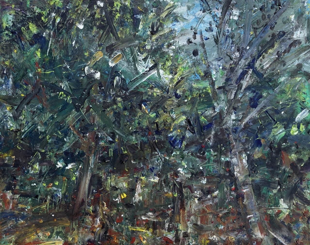 Autumn 1. Oil on canvas