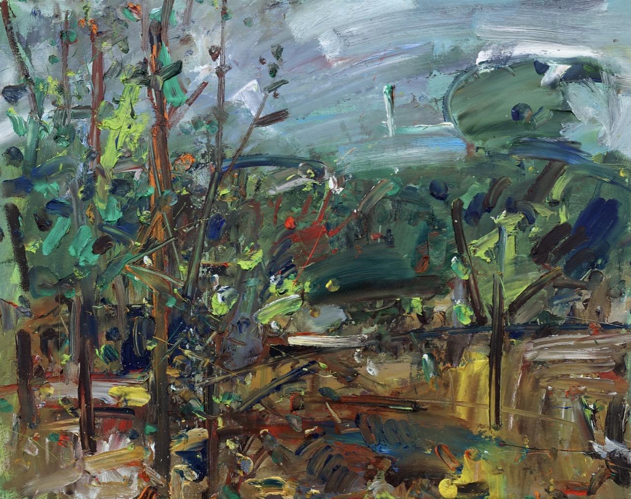 Autumn 2. Oil on canvas