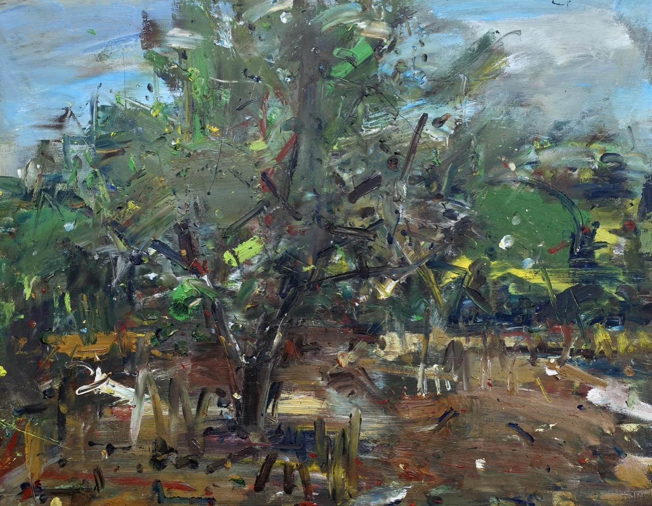 Autumn 3. Oil on canvas