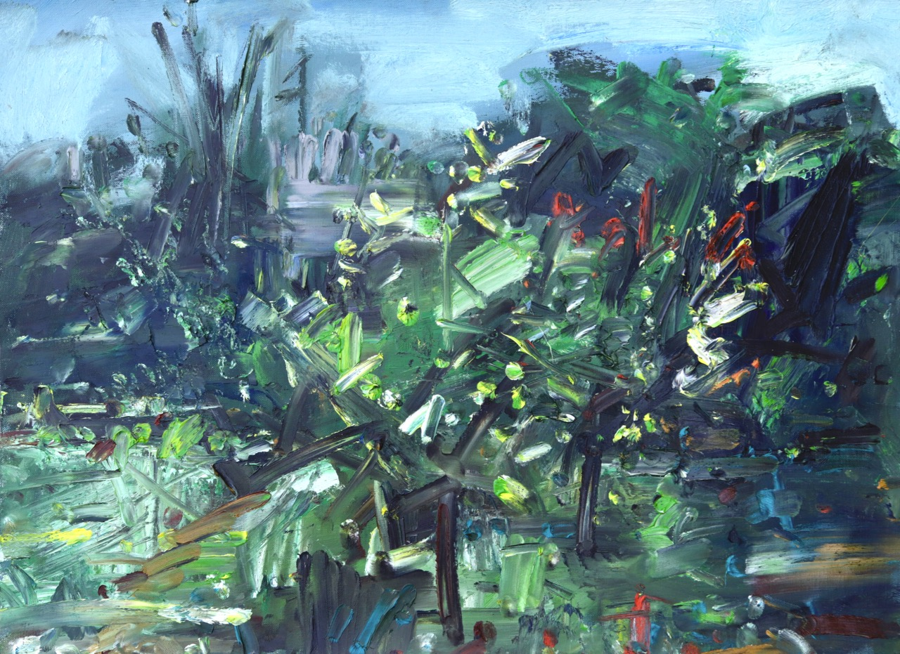 Garden (May 2020) Oil on canvas
