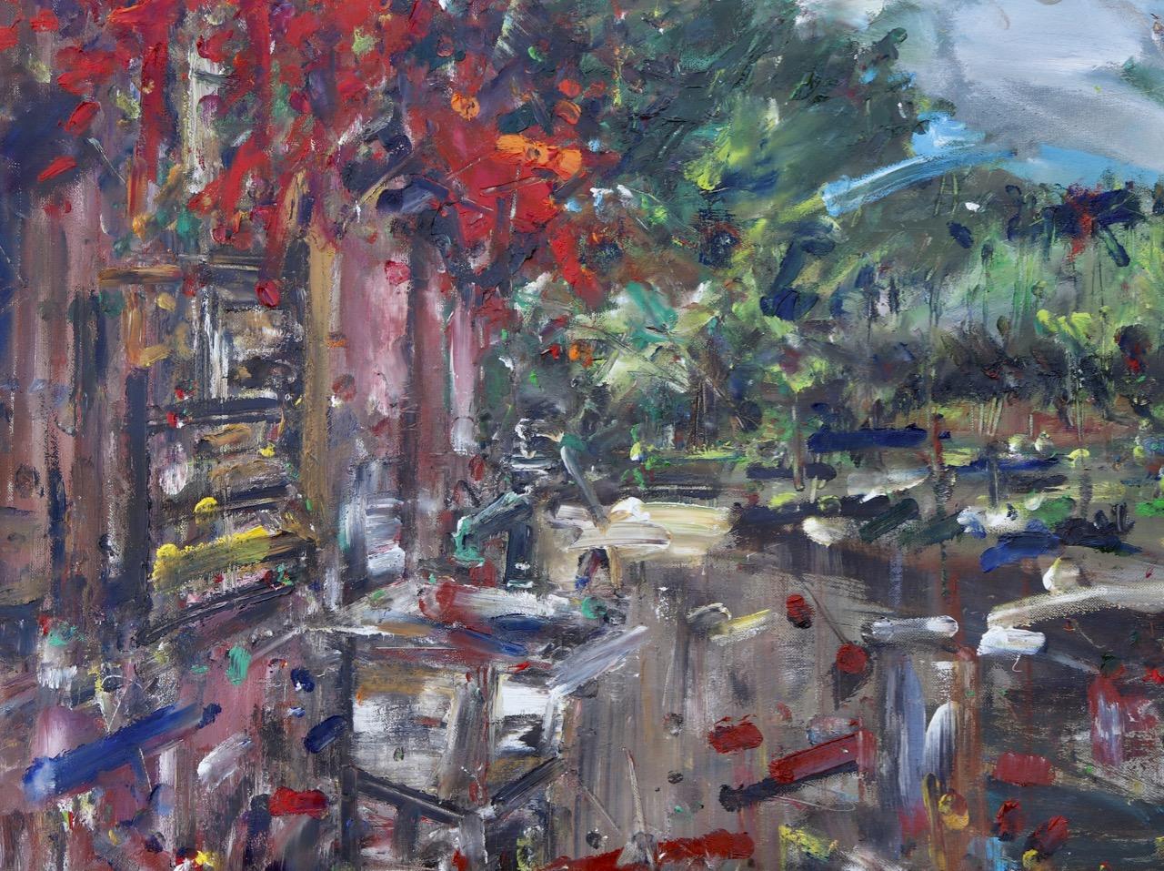 Autumn 8. Oil on canvas