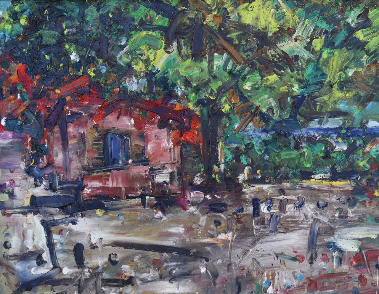 Autumn 7. Oil on canvas