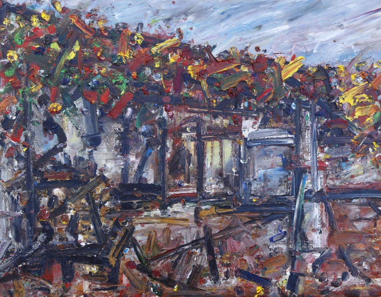 Autumn 9. Oil on canvas
