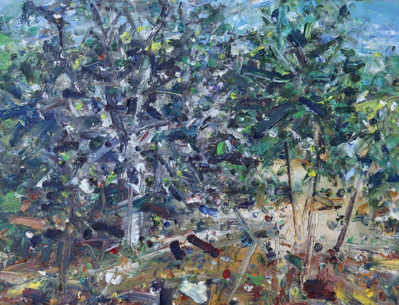 Autumn 5. Oil on canvas