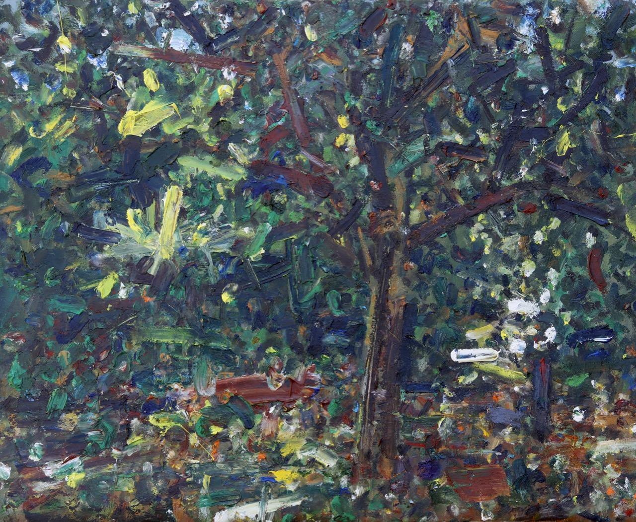 Autumn 6. Oil on canvas