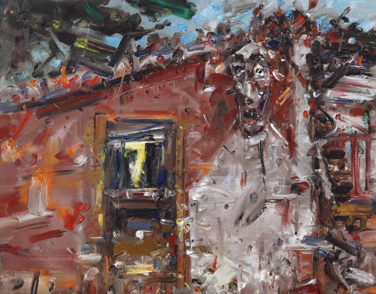 autumn around my studio 1 oil on canvas