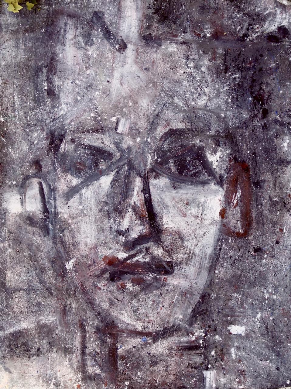 2021 Spring-Face 2 xll (acrylic, 300/200cm.)